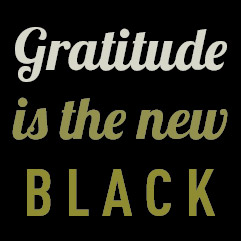 Image result for gratitude is the new black
